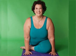 yoga teacher Abby Lentz
