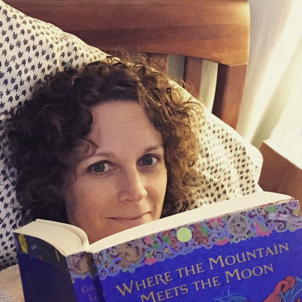 reading Where the Mountain Meets the Moon