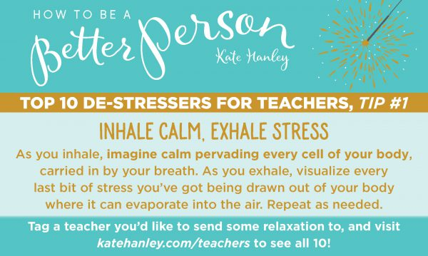 Top 10 Stress Relievers for Teachers